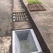 Au ghana , voici la méthode qu'ils adoptent pour que les canniveaux restent propres!