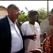Législatives 2021: le cortège du ministère Patrick Achi bloqué à Yakassé par les pro-Agnès Monnet