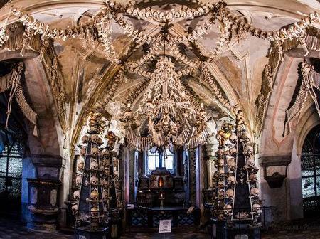 See The Church Made Of Human Bones