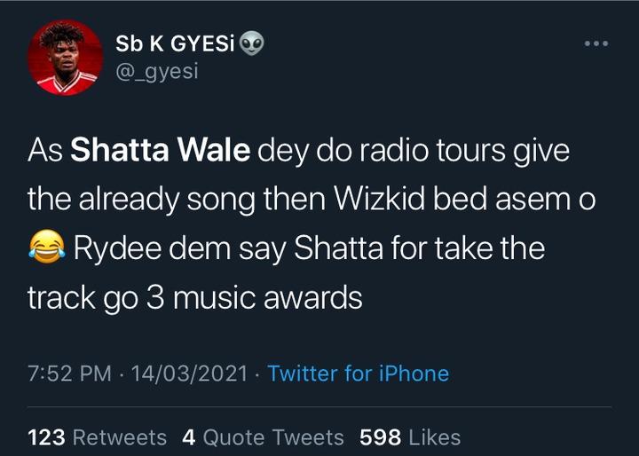 b442b4ec7af44c6db7bc298f8965ec91?quality=uhq&resize=720 - Shatta Wale In Trouble As Netizens Troll Him After Wizkid Won Grammy Award With Beyoncé