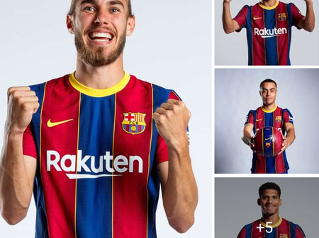 Check out photos of Ansu Fati, Pedri Gonzalez, Sergino Dest and other Barcelona young players