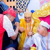 Checkout Fashionable Outfit of the Newly Installed Aare Onikoyi by Alaafin of Oyo