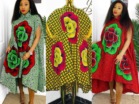 Fashionistas, Check Out These Stylish Ways To Rock Your Short Ankara Gowns