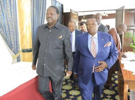 Raila Odinga And Francis Atwoli Are Related, See How