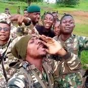 Video: Nigerian soldiers sing in solidarity against Boko-Haram forces