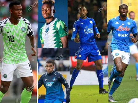 Meet the 14 Nigerian players who will be playing in the Europa league this season