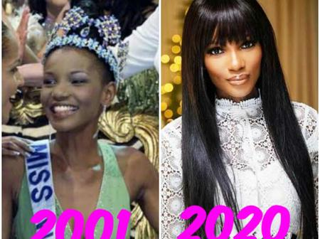 Agbani Darego Is 38 Years Today, See Photos Of Her In 2001, Her Recent Photos, And Her Husband