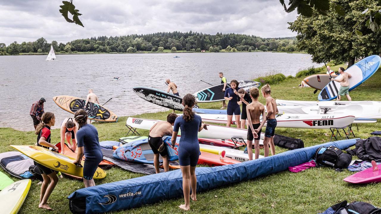 """Outdoor-Festival: Bei """"Draußen am See"""" in Losheim war mächtig viel Abwechslung geboten"""