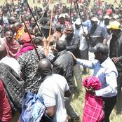 Photos Of Ruto's Mammoth Crowd At Narok Versus Raila's At Kilifi Show Their Might