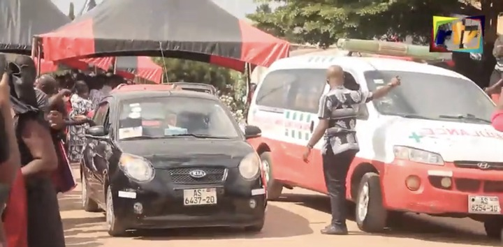 b4879ab63817e5feaf4a3fa669d45176?quality=uhq&resize=720 - Sad: Scenes from the KNUST Uber driver funeral who was murdered by a final year student(Photos)
