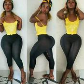 Is This Real Or Fake: Meet Baddie Sky, who Is Naturally Endowed (Pictures)