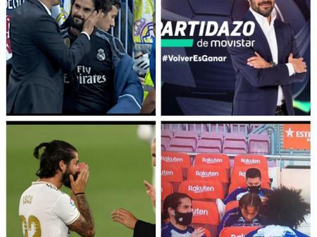 Isco caught blasting his coach Zinedine Zidane on camera by Spanish El Partidazo Movistar+