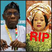 Obasanjo is 84 years Today, Check out how Three of his Wives died and who he is currently married to.