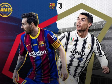 After Ronaldo Grabbed His 98th Goal For Juventus, Check Out Messi's Stats Since CR7 joined Juventus
