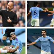 Triple Injury Boost To Manchester City Ahead Of Manchester United Clash