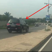 Driver Caught on Camera Endangering Lives By Driving On Wrong Lane To Beat Traffic
