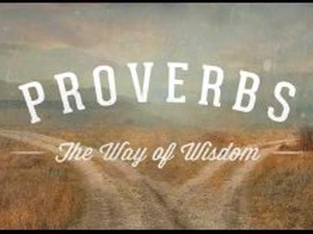 PROVERBS: meaning And Types