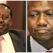 Raila Drops A Bombshell On Ruto As Blame Game Goes On