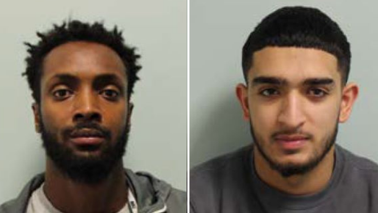 Life sentences for 2 men who stormed West London party and stabbed dad to death