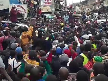 Ruto's speech to the residents of Kayole