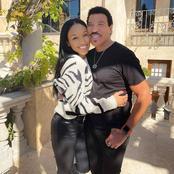 L'un des couples les plus surprenants, Lionel Richie (71 ans) et sa petite amie Lisa Parigi (30 ans)