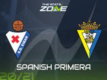 SPAIN: LaLiga - Round 8.  Eibar vs Cadiz match preview, news, H2H & stats