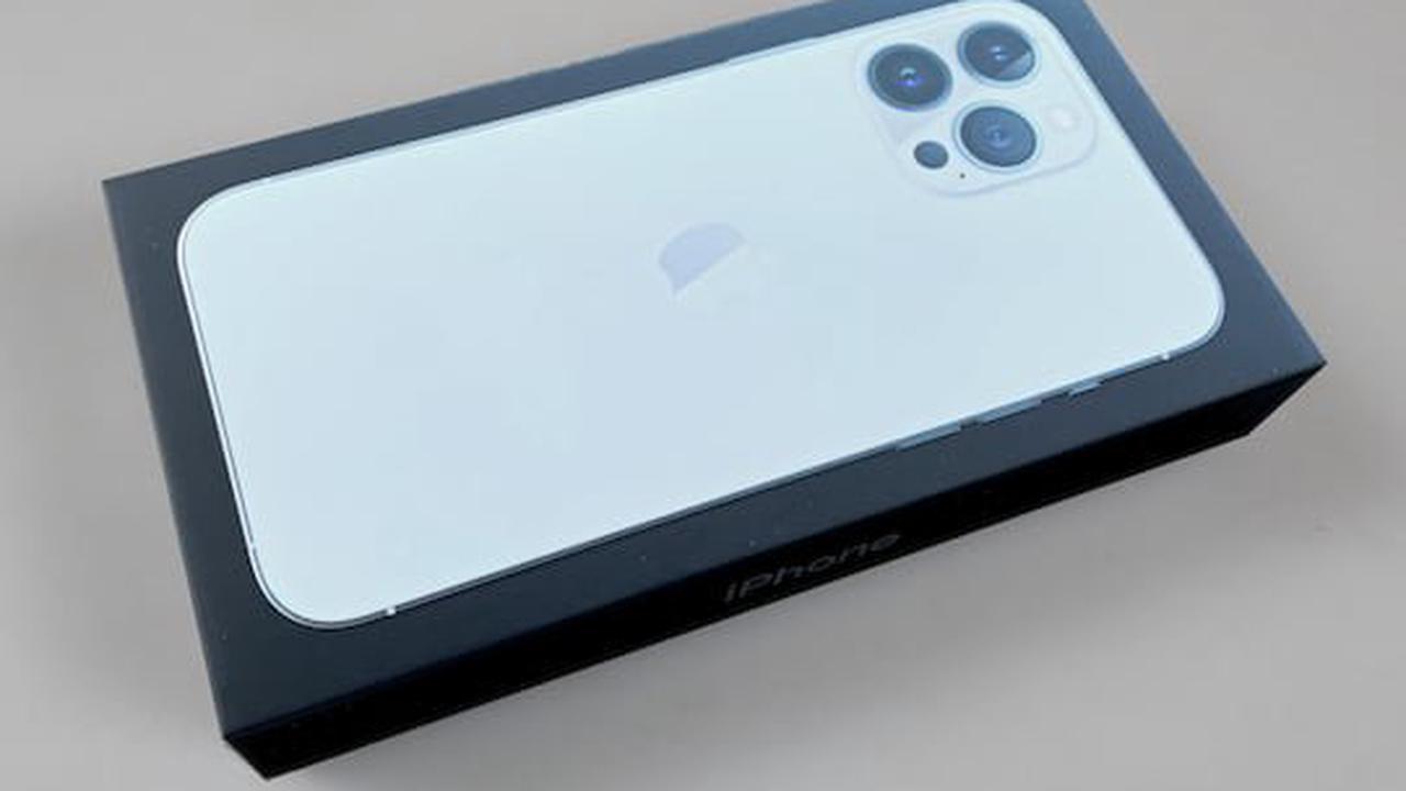 Hands-On: Erste Eindrücke vom iPhone 13 Pro Max