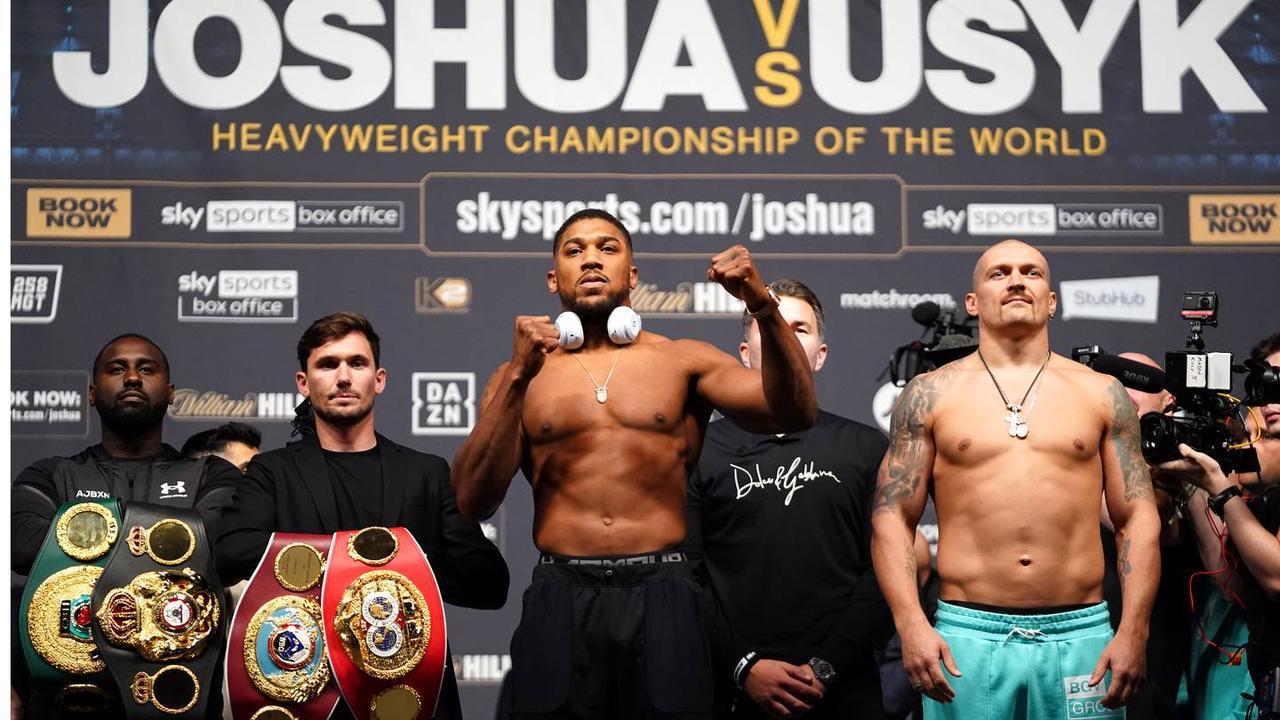 Result: Anthony Joshua Vs Oleksandr Usyk Meet In World Heavyweight Title Fight