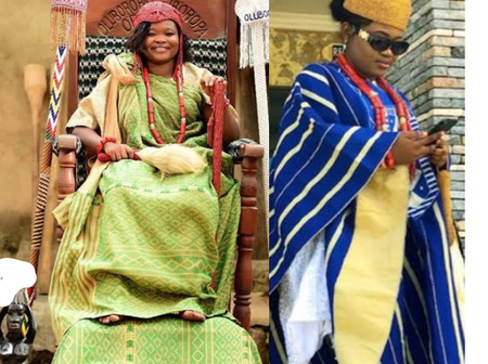 Meet HRM Tinuade Babalola Adejuyigbe, The Pretty Female Traditional Ruler Of Iboropa In Ondo State.