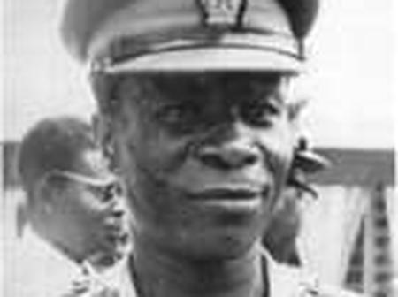 General Kotoka, the man who led a coup against Dr. Kwame Nkrumah.