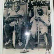 Undated Photo of Jomo Kenyatta and Jaramogi Odinga Spotted at National Function in