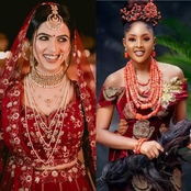 Indian Brides Vs Igbo Brides - Who Rocks It Best? (photos)