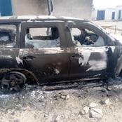 Boko Haram Inflicted Heavy Damages On United Nations Humanitarian Hub, Check Out Pictures