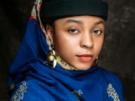 Remember The Beautiful Hausa Pharmacist Who Is Also An Artist? See Her Photos Her Artwork