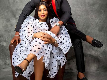 Nollywood Actor Nino Bolanle's Sends A Heartwarming Valentine Message To His Wife. See Photos