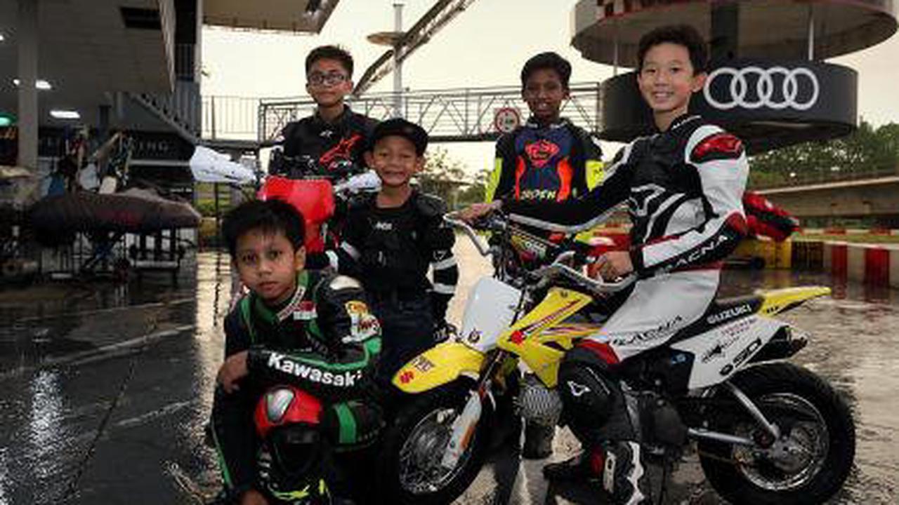 Biker kids enrol in Youth GP Academy to get race ready