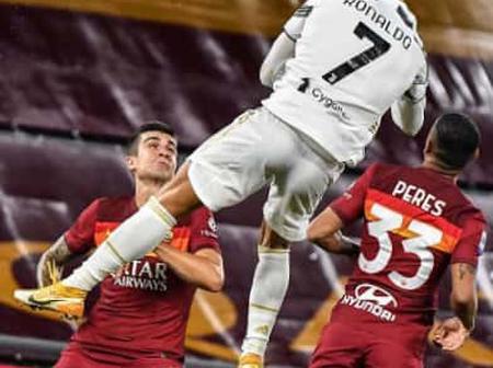 The KANGAROO Header Of Cristiano Ronaldo Against AS Roma.