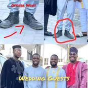 After Abiola Posted Photos Of Themselves In A Wedding Outfit, See What Fans Noticed About Officer Woos