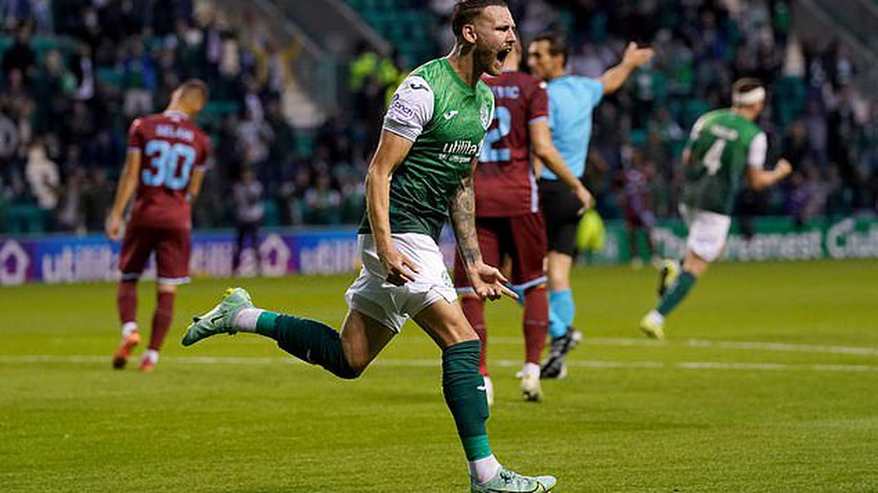 So much for being a long ball team! Hibernian fight back against 'uneducated' stereotype of Rijeka boss to salvage draw in Europa Conference League qualifier... and boss Jack Ross says his side will hold NO fear for return leg in Croatia