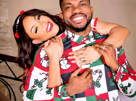 Meet Joseph Yobo's Lovely Sons, Daughter And His Beautiful Wife Who Was