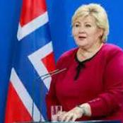The amount of money Norway's Prime minister was fined for flouting covid 19 social distance rules