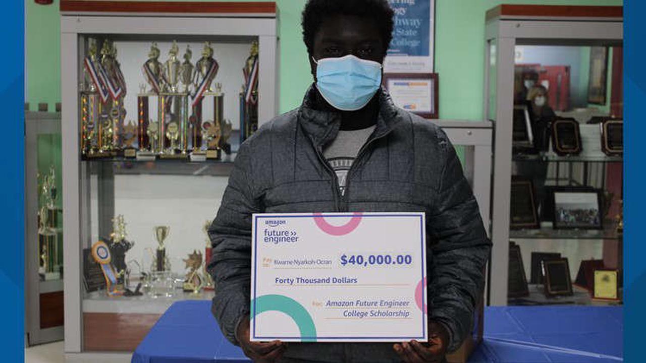 Columbus high school senior awarded $40,000 scholarship by Amazon
