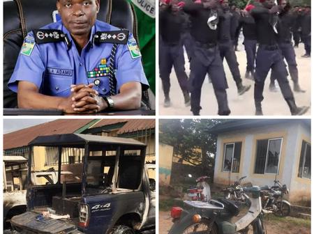 Read What Police Recovered From The ESN Men That Attacked Imo Prison That Will Help In Tracking Them