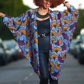 Checkout 10 Classy and Stylish Ankara Kimono Jackets for Ladies