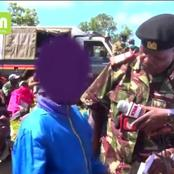 Brave Narok Boy who Confronted Rift Valley Police Boss George Natembeya Gets a Government Job