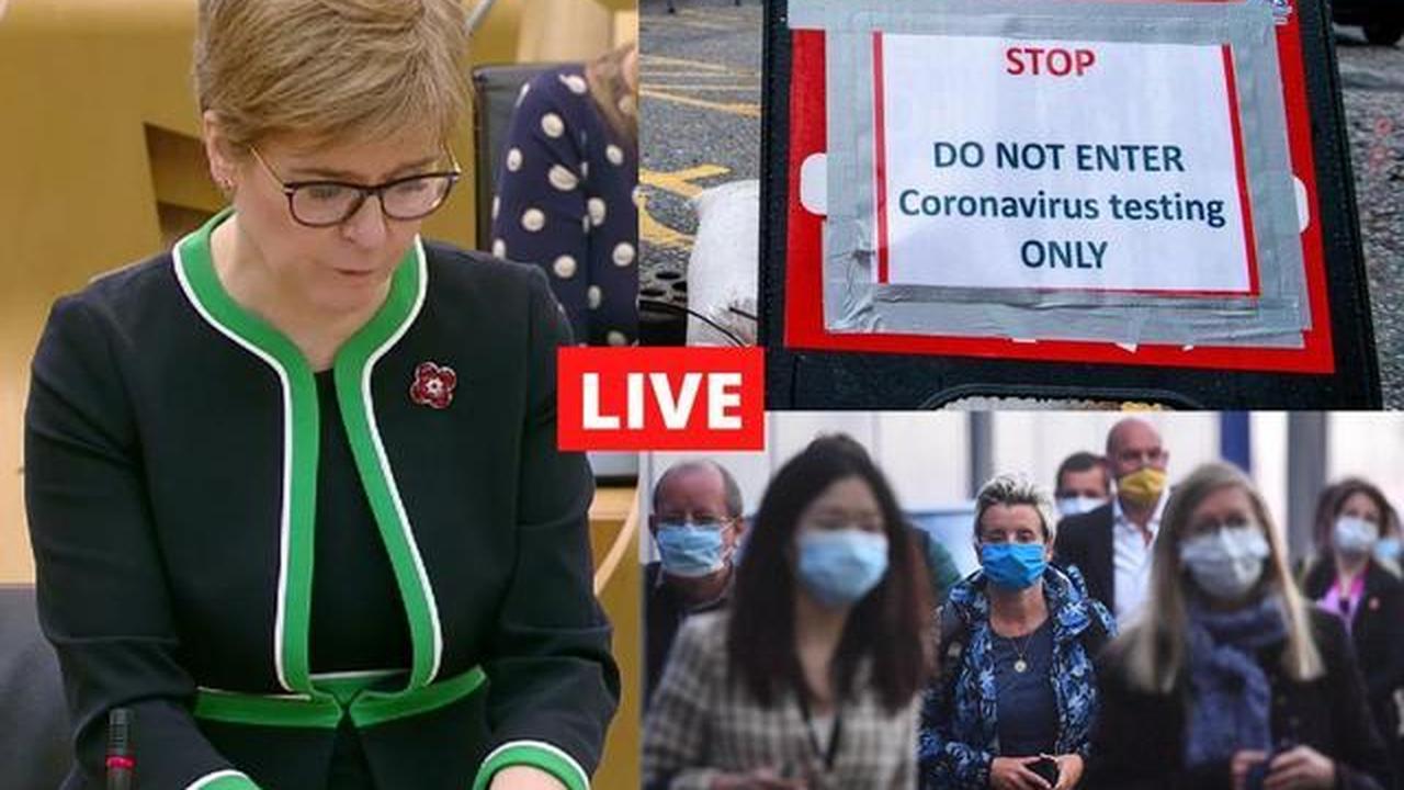 Coronavirus in Scotland LIVE:Scottish Government considering delays to Covid-19 vaccination programme