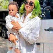 La photo du jour : une autre femme d'un milliardaire, Regina Daniels et son magnifique enfant