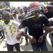 Aba Protest Has Taken a New Turn, Check Out These Photos And What They Did To Policemen