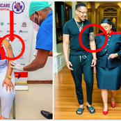 Here Is What Kenyans Noticed After Rev. Lucy Natasha Posted This Photo Being Vaccinated
