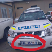 SAPS: See what letter B stands for in Police cars, see below